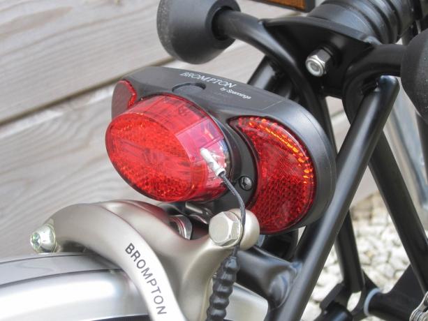 Brompton Batterij Achterlicht Spanninga excl. Houder