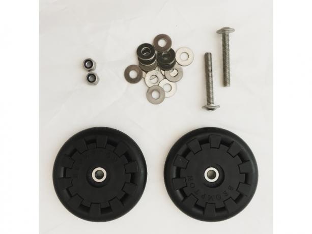 Brompton Eazy Wheel M5 incl. Bevestiging (Paar)