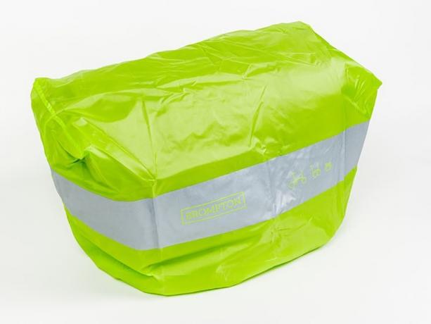 Brompton Regenhoes Limoen voor C-Bag met Houtje-Sluiting