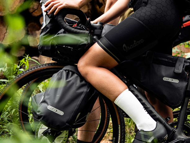 Ortlieb Fork-Pack Bike-Packing Voortas Zwart Mat