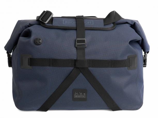 Brompton Borough Waterproof Bag L Navy incl. Frame