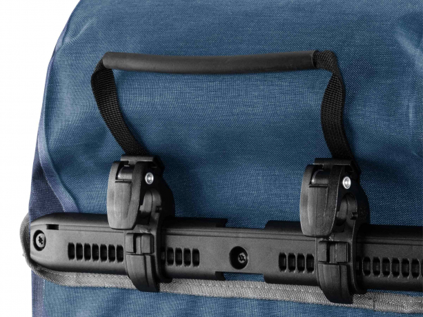 Ortlieb Bike-Packer Plus QL2.1 Achtertassen Denim-Staalblauw