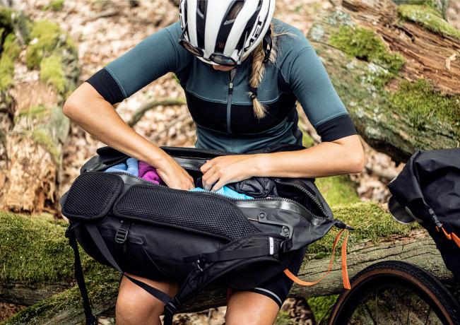 Ortlieb Atrack BP Bike Packing Rugzak 25L Zwart mat