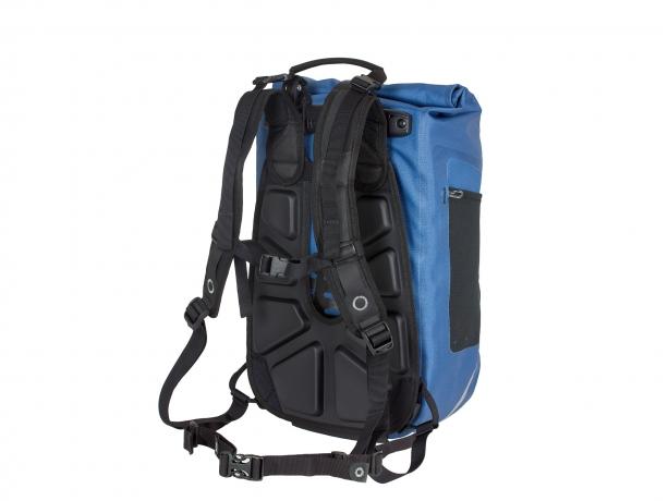 Ortlieb Vario QL2.1 Fietstas-Rugzak Staalblauw