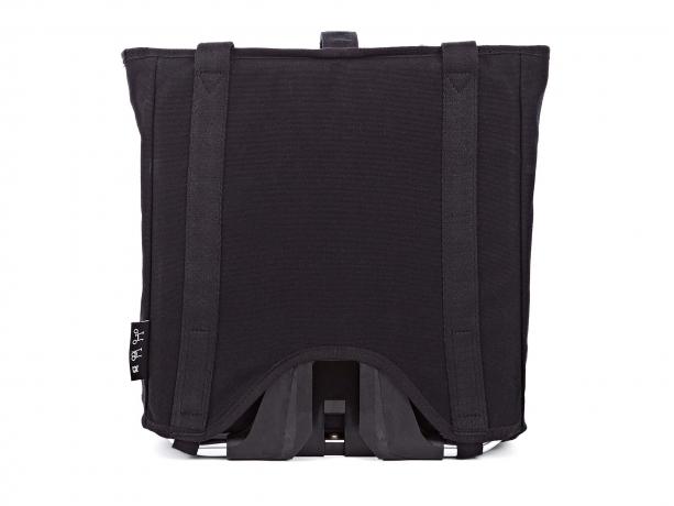 Brompton Tote Bag incl. Frame & Regenhoes Zwart