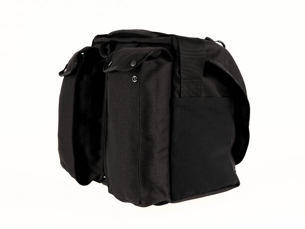 Brompton Metro Messenger Bag L Zwart incl. Frame & Regenhoes