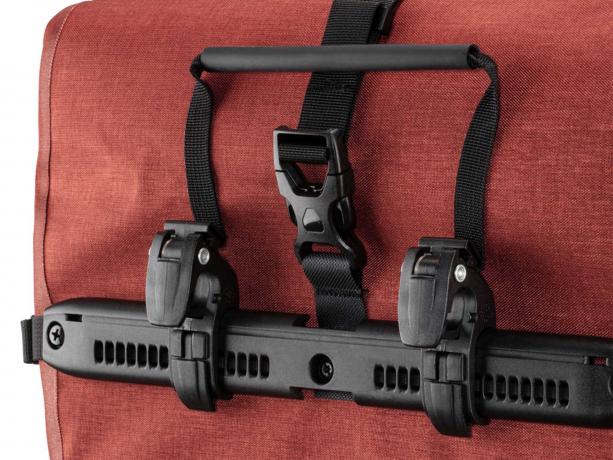 Ortlieb Back-Roller Pro Plus Achtertassen Signaalrood-Chili