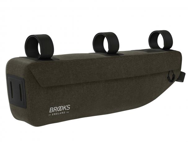 Brooks Scape Frame Bag Frametas Modder Groen