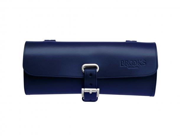 Brooks Challenge Leder Zadeltas Blauw