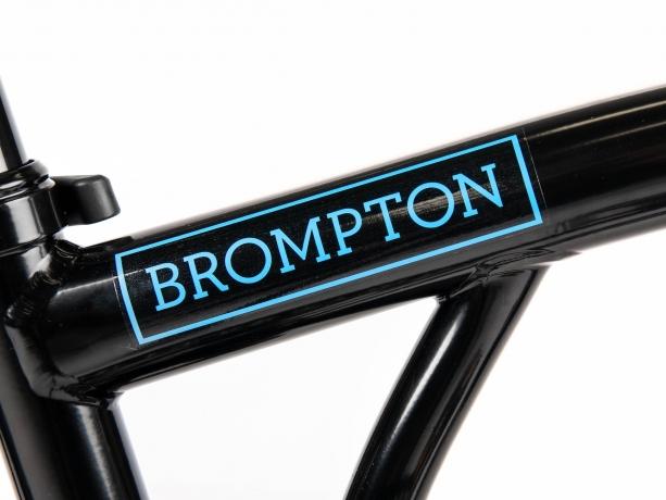 Brompton Electric Decal Hoofdframe Blauw