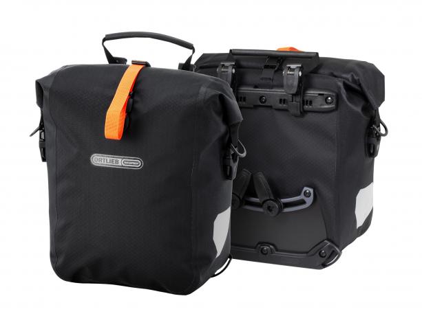 Ortlieb Gravel-Pack Bikepacking Voor- of Achtertassen Zwart