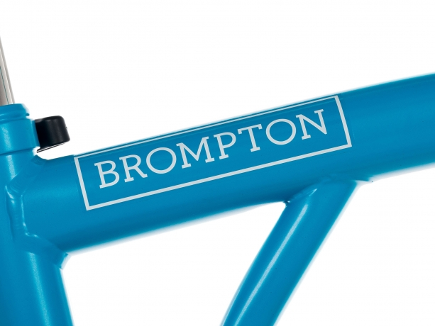 Brompton Transfer / Decal Zilver