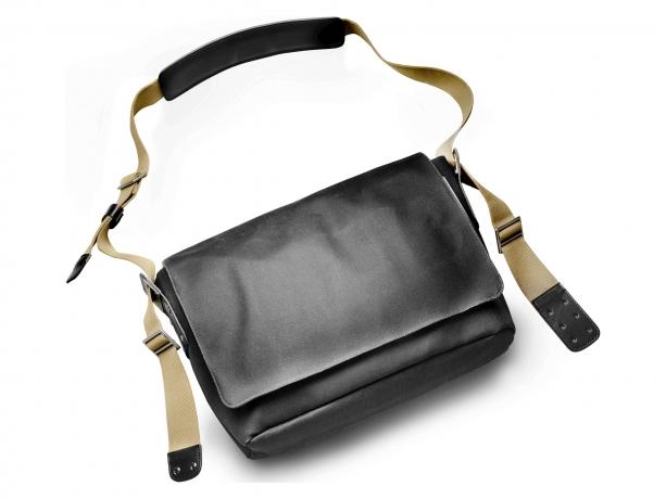 Brooks Barbican Canvas Messenger Bag Grijs - Bruin
