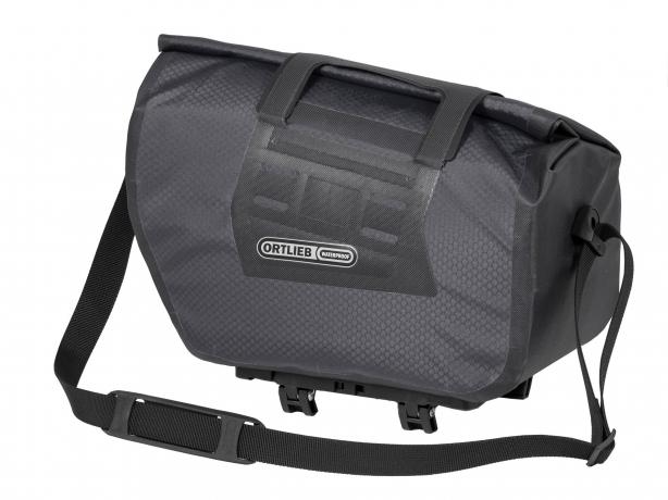 Ortlieb Trunk-Bag RC Rack-Lock Adapter Leigrijs-Zwart