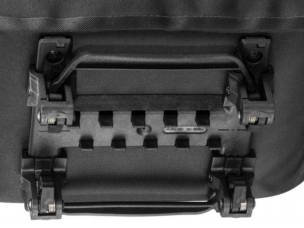 Ortlieb E-Trunk Boventas met Top-Lock Adapter Zwart