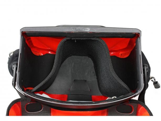 Ortlieb Stuurtas Ultimate Six Plus 7L Signaalrood-Chili incl. Stuurhouder