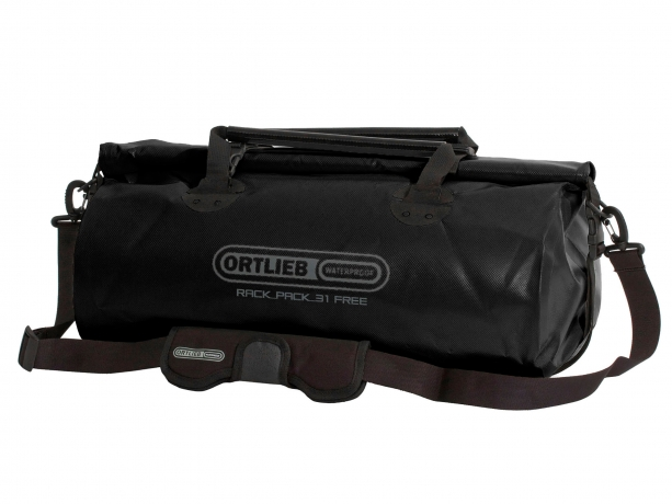 Ortlieb Rack-Pack Free M Reis- & Sporttas 31L Zwart