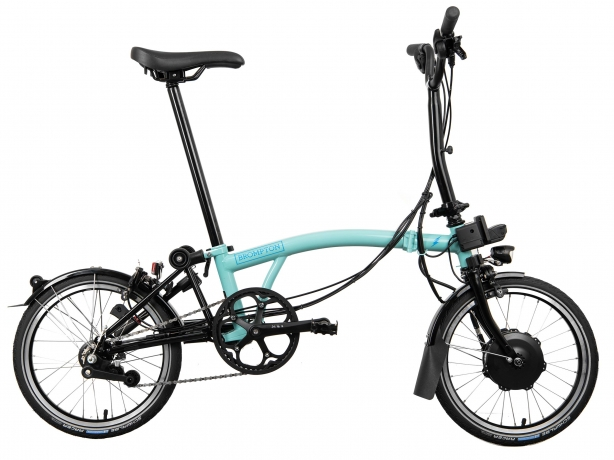 Brompton Electric M6L Vouwfiets Turkoois MY2021
