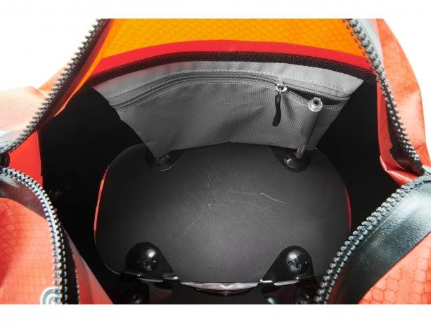 Ortlieb Trunk-Bag Rack-Lock Adapter Dark Chili-Signaalrood