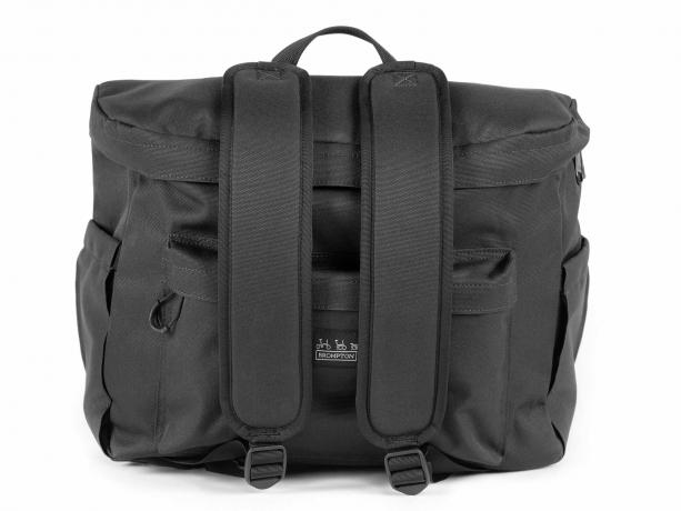 Brompton Metro Backpack M Zwart incl Frame & Regenhoes
