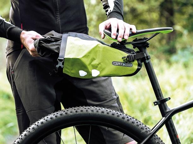 Ortlieb Saddle-Bag Two Zadeltas 1.6 L Limoen-Zwart