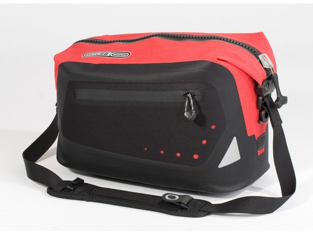 Ortlieb Trunk-Bag R&K Adapter Rood-Zwart