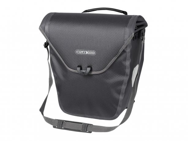 Ortlieb Velo-Shopper QL2.1 Boodschappentas Leigrijs-Zwart