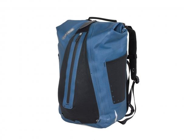 Ortlieb Vario QL3.1 Fietstas-Rugzak Staalblauw