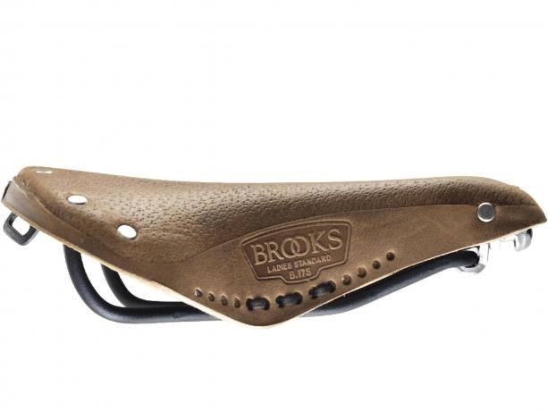 Brooks B17 Short Aged Dames Zadel Aged Bruin