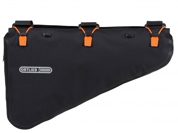 Ortlieb Frame-Pack RC Frametas rolsluiting 6L Zwart mat