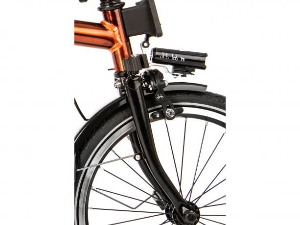 Brompton M6L Black Edition Vouwfiets Flame Lacquer