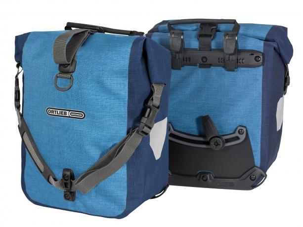 Ortlieb Sport-Roller Plus QL2.1 Voortassen Denim-Staalblauw