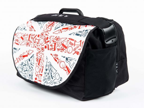 Brompton S-Bag incl. Frame & Regenhoes Union Jack Flap