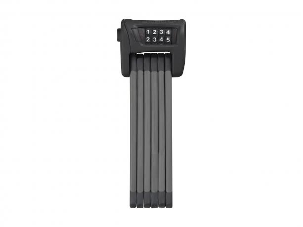 Abus Bordo Combo 6100 SH 90cm Vouwslot Zwart