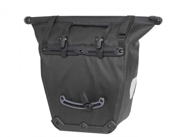 Ortlieb Bike-Shopper QL2.1 Boodschappentas Leigrijs-Zwart
