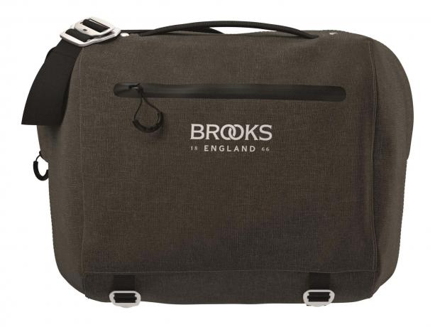 Brooks Scape Handlebar Compact Bag Stuurtas Modder Groen