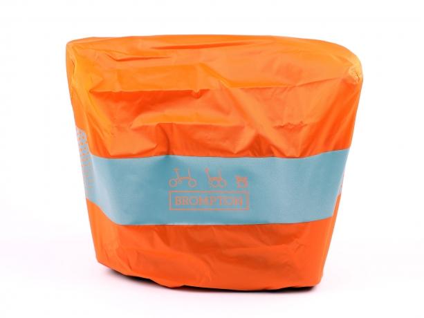 Brompton Regenhoes Oranje S voor Small Bags