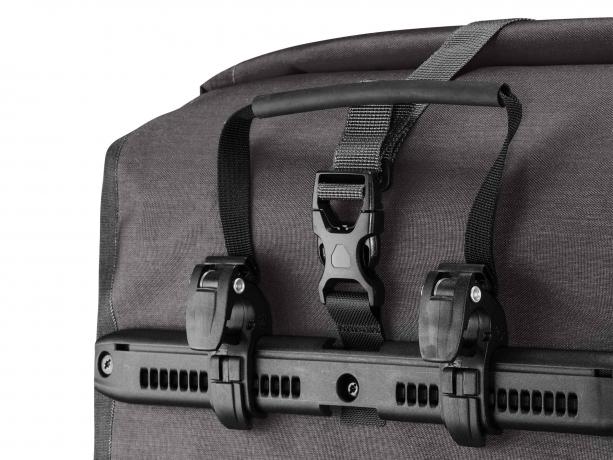 Ortlieb Back-Roller Plus QL2.1 Achtertassen Graniet-Zwart