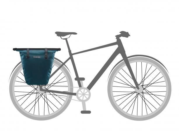 Ortlieb Bike-Shopper QL2.1 Boodschappentas Petrol