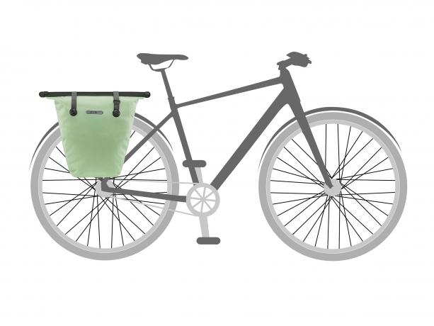 Ortlieb Bike-Shopper QL2.1 Boodschappentas Pistachio
