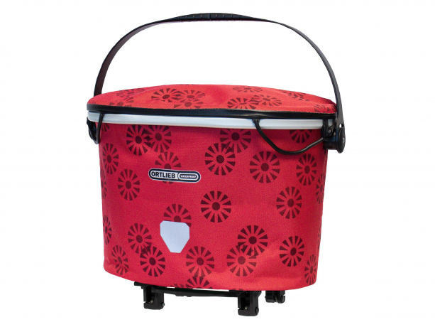 Ortlieb Bagagedragermand Up-Town Rack Design Floral