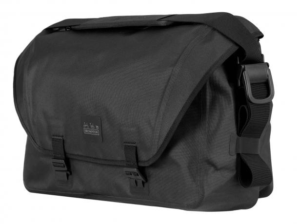 Brompton Metro Waterproof Bag L Zwart incl Frame