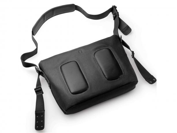 Brooks Barbican Canvas Messenger Bag Zwart - Zwart
