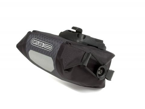 Ortlieb Micro Zadeltas 0.6L Oceaanblauw-Zwart