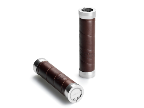 Brooks Slender Grips Leder Handvatten 130/130mm Aged