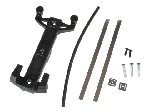 Ortlieb Montageset QLS voor Fork-Pack Zwart
