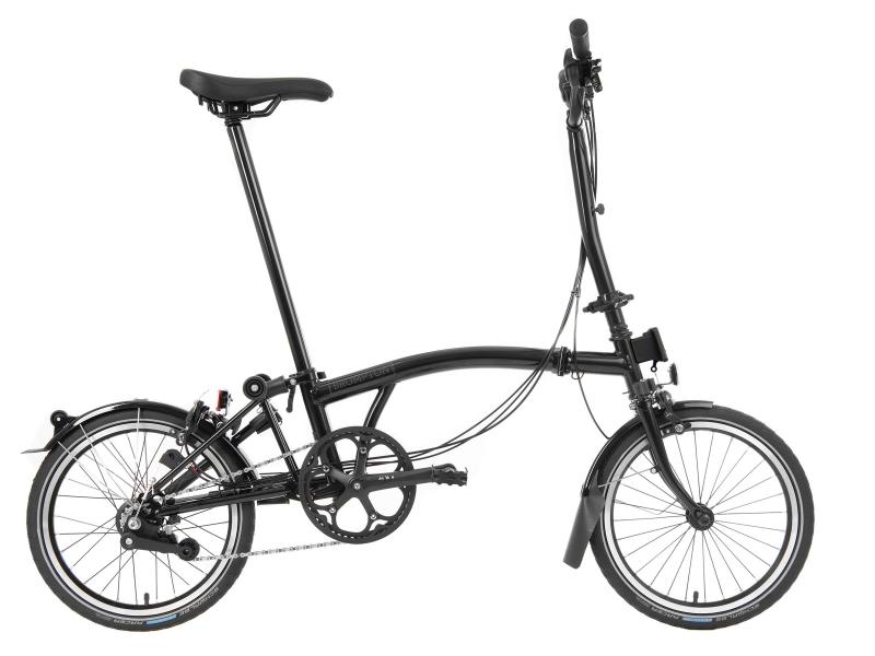Brompton Black Edition Zwart Model 2021