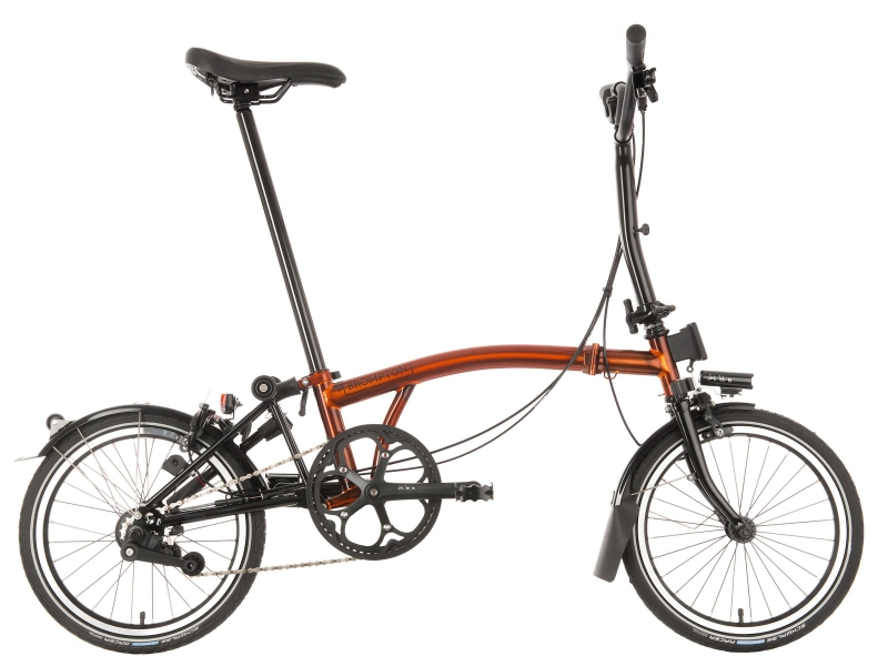 Brompton Black Edition Fame Lacquer Glans MY2021