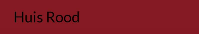 Brompton Huis rood